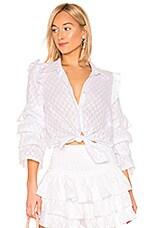 MISA Los Angeles Juana Top in White