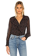 MISA Los Angeles Jacinda Top in Ditzy Floral Print