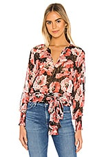 MISA Los Angeles Lettie Top in Floral Print