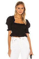 MISA Los Angeles Abbey Top in Black