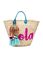MISA Los Angeles Marrakech 'Hola' Bag in Turquoise