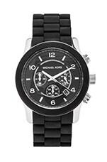 Michael Kors Runway Watch in Black