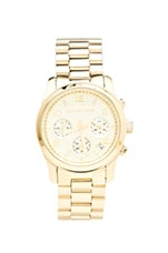 Michael Kors Runway Watch in Gold