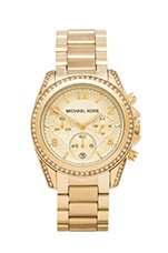 Michael Kors Blair Watch in Gold
