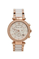Parker Watch en Rosegold/White