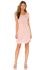 MORGAN LANE Dillon Dress in Blush