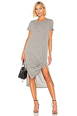 Michael Lauren Augustus Dress in Heather Grey