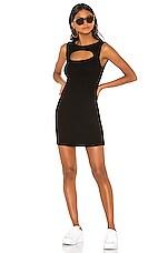 Michael Lauren Fetch Dress in Black
