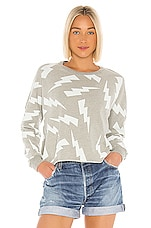 Michael Lauren Travis Sweatshirt in Heather Grey
