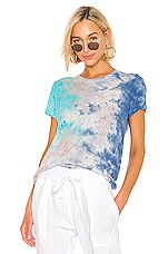 Michael Lauren Gunter Tee in Galaxy Wash