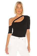 Michael Lauren Woods Top in Black
