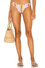 Montce Swim Lulu Bikini Bottom in Mallorca Stripe