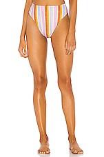 Montce Swim Paula Bikini Bottom in Mallorca Stripe