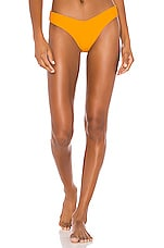 Montce Swim Lulu Bottom in Mango Rib