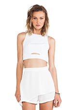 Minty Meets Munt Elise Top in White