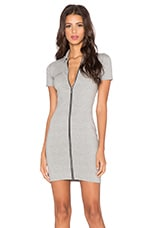 Bourbon Mini Dress in Grey Marl