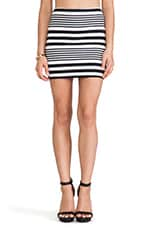 Kimmy Skirt in Multi Stripe