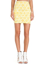 Kimmy Skirt in Lemonade Yellow