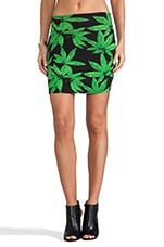 Kimmy Skirt in Palm Leaf Print