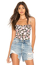 Motel Franti Bodysuit in In Bloom Floral