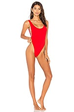 Motel Goddess Swimsuit in Bae Watch Red
