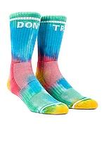 MOTHER Baby Steps Socks in Don't Trip Tie Dye