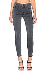 JEAN SKINNY LOOKER HIGH WAIST ANKLE ZIP