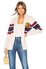 MOTHER The Fisherman Cardigan in Out Of Line