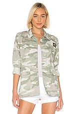MOTHER The Loose Veteran Jacket in Desert Print