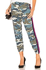 MOTHER No Zip Misfit in Army Blue Camo