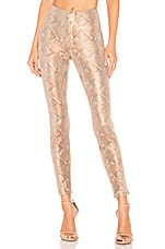 MOTHER High Waisted Seamless Looker Ankle in Slither