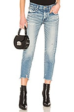 Moussy Vintage Kelley Tapered Jean in Light Blue