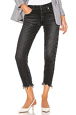 Moussy Vintage Staley Tapered in Black