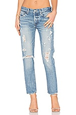 Aberdeen Distressed Skinny in Blue
