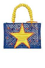 Mercedes Salazar Mis Estrellas Amarillas Bag in Blue