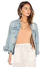 Maison Scotch Denim Trucker Jacket in Indigo