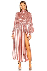 MSGM Long Sleeve Dress in Pink
