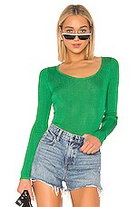 MSGM Pullover Sweater in Green