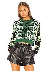 MSGM Maglia Sweater in Green