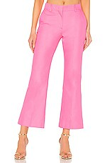 MSGM Tailored Crop Pant in Pink