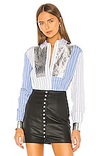 MSGM Button Up Shirt in White