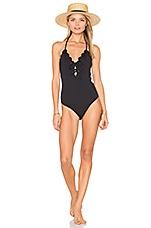 Marysia Swim Broadway Tie One Piece in Black