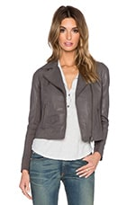 Bovaye Drape Jacket in Bentonite Grey