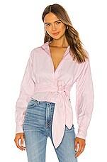 Marissa Webb Emmerson Oxford Shirt in Pink