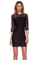 Rosie Dress in Black Lace