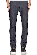 Stacked Guy 12oz Indigo Power Stretch en Indigo
