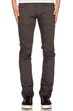 Skinny Guy Carbon Stretch 8oz in Dark Grey