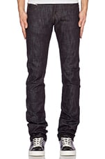 Skinny Guy Slub Stretch Selvedge 12.5oz in Indigo