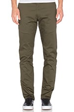 PANTALON CHINO SLIM STRETCH EN TWILL