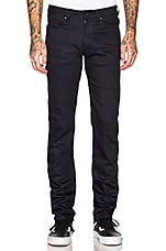 Naked & Famous Denim Super Guy Stretch Jeans in Midnight Power